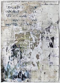 Zavier Ellis 'Liberté IX', 2021 Emulsion, collage on paper 59.4x42cm
