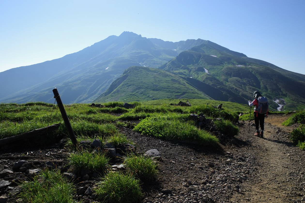 御田ヶ原から眺める鳥海山