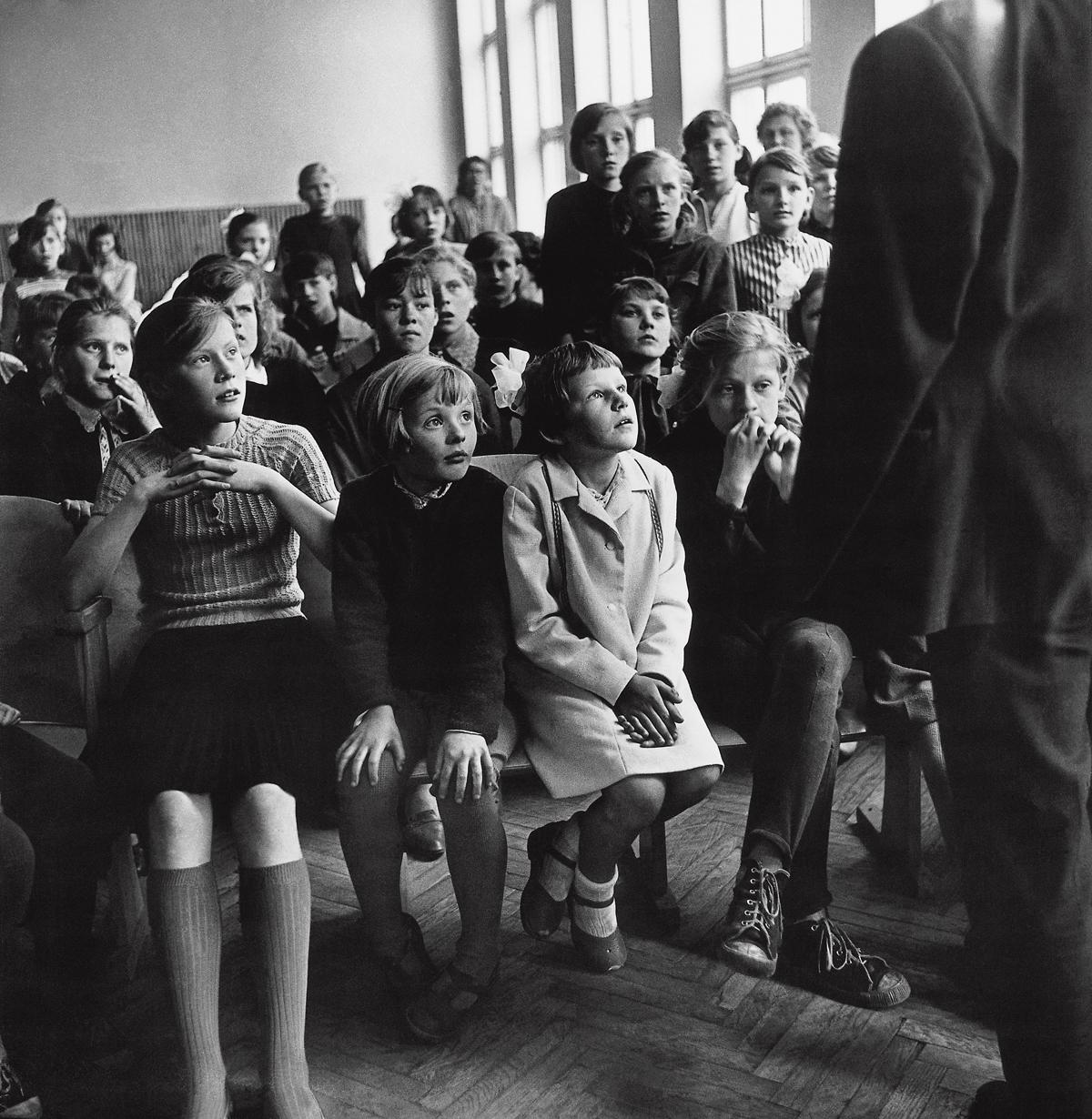 1966. Отбор в художественную школу. Жемайтия (2)
