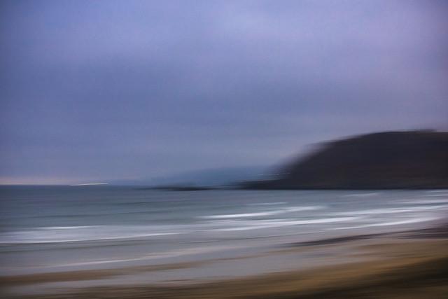 Impressions of a beach