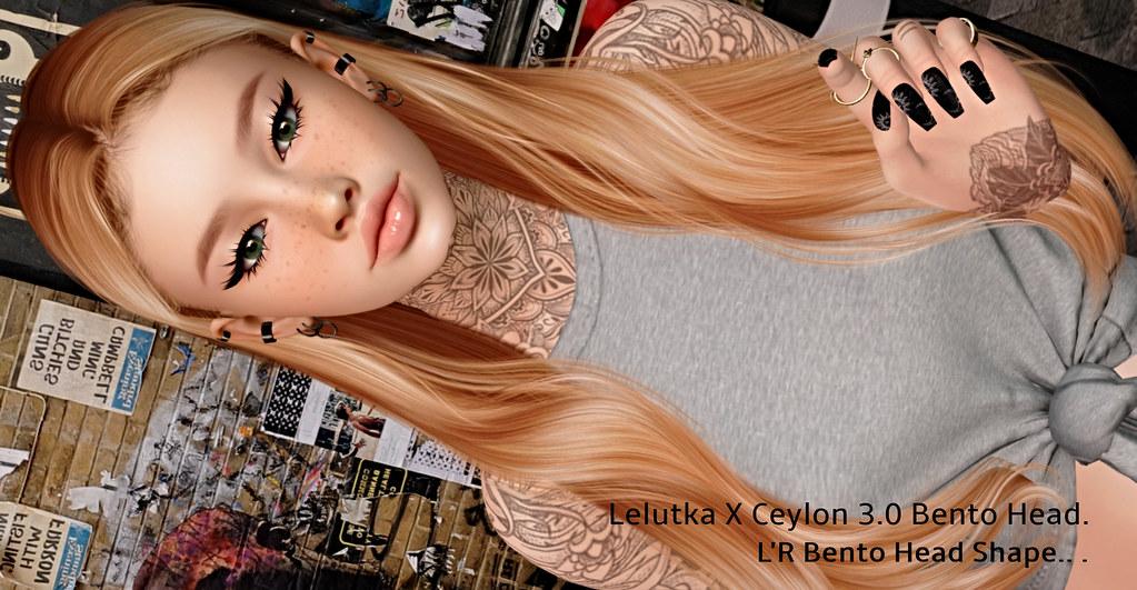new, Lelutka X Ceylon 3.1 Bento Head Shape –