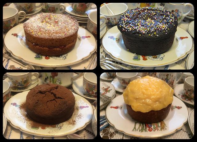 Bear Sized Birthday Cakes