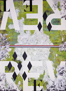 Zavier Ellis 'Revolt Repeat', 2021 Oil, acrylic, emulsion, pencil, collage on board 270x200cm