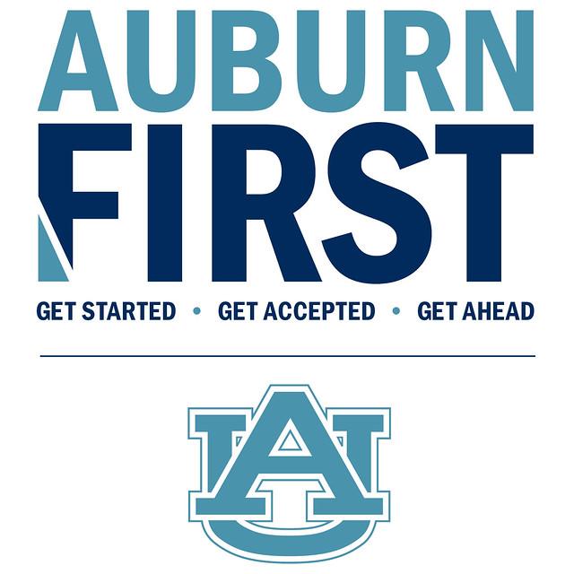 Auburn First logo.