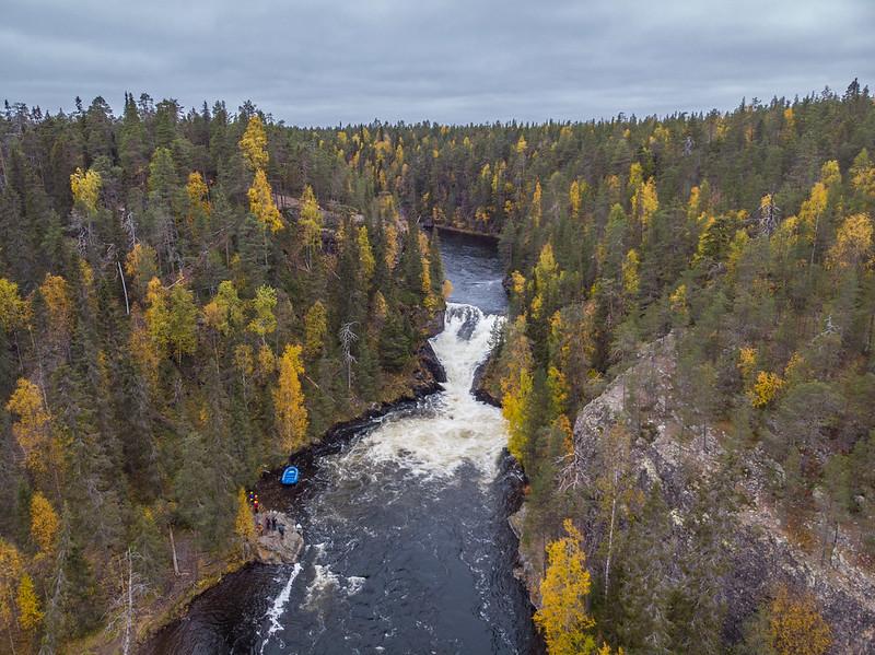 Jyrävä from above