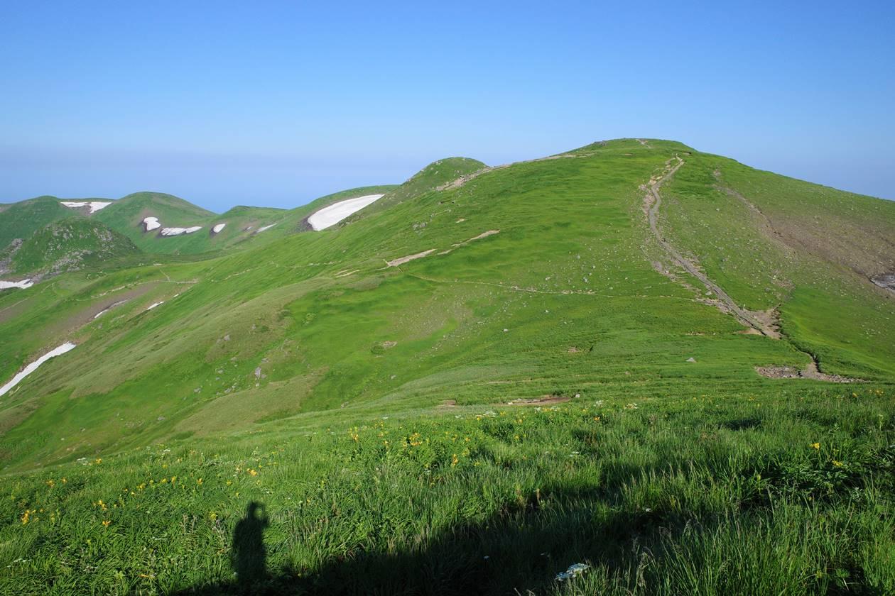 鳥海山 稜線登山
