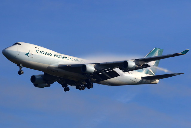 Cathay Pacific Cargo 國泰航空 Boeing 747-467F(ER) B-LID