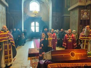 03.10.2021 | Литургия в Софийском соборе