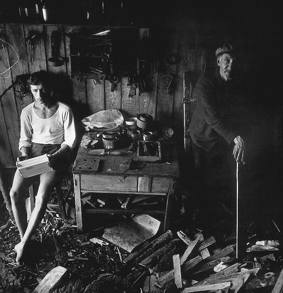 1968. «Радио Свободы» в отцовской мастерской. Зарасай