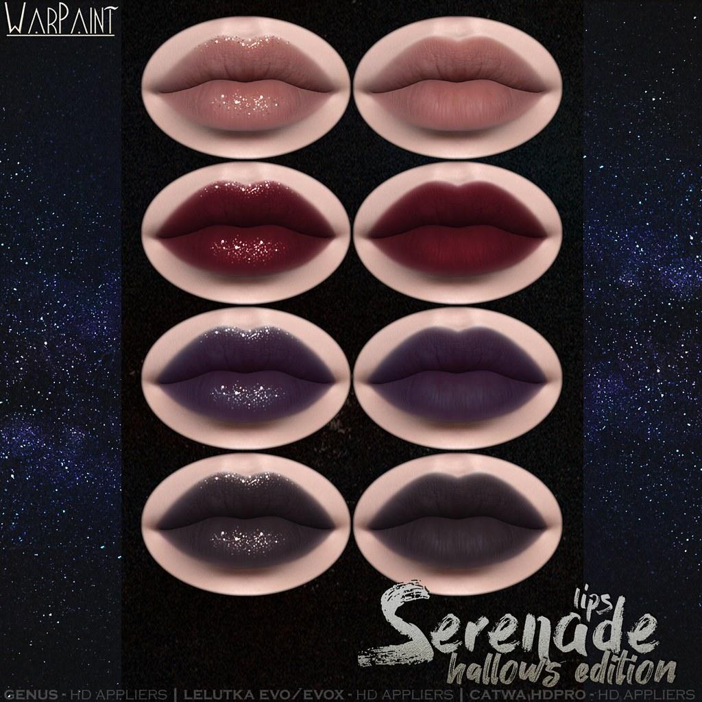 WarPaint* @ TSS – Serenade lips hallows edition <3