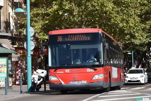 Tata Hispano Area Irisbus 4646 Avanza Zaragoza