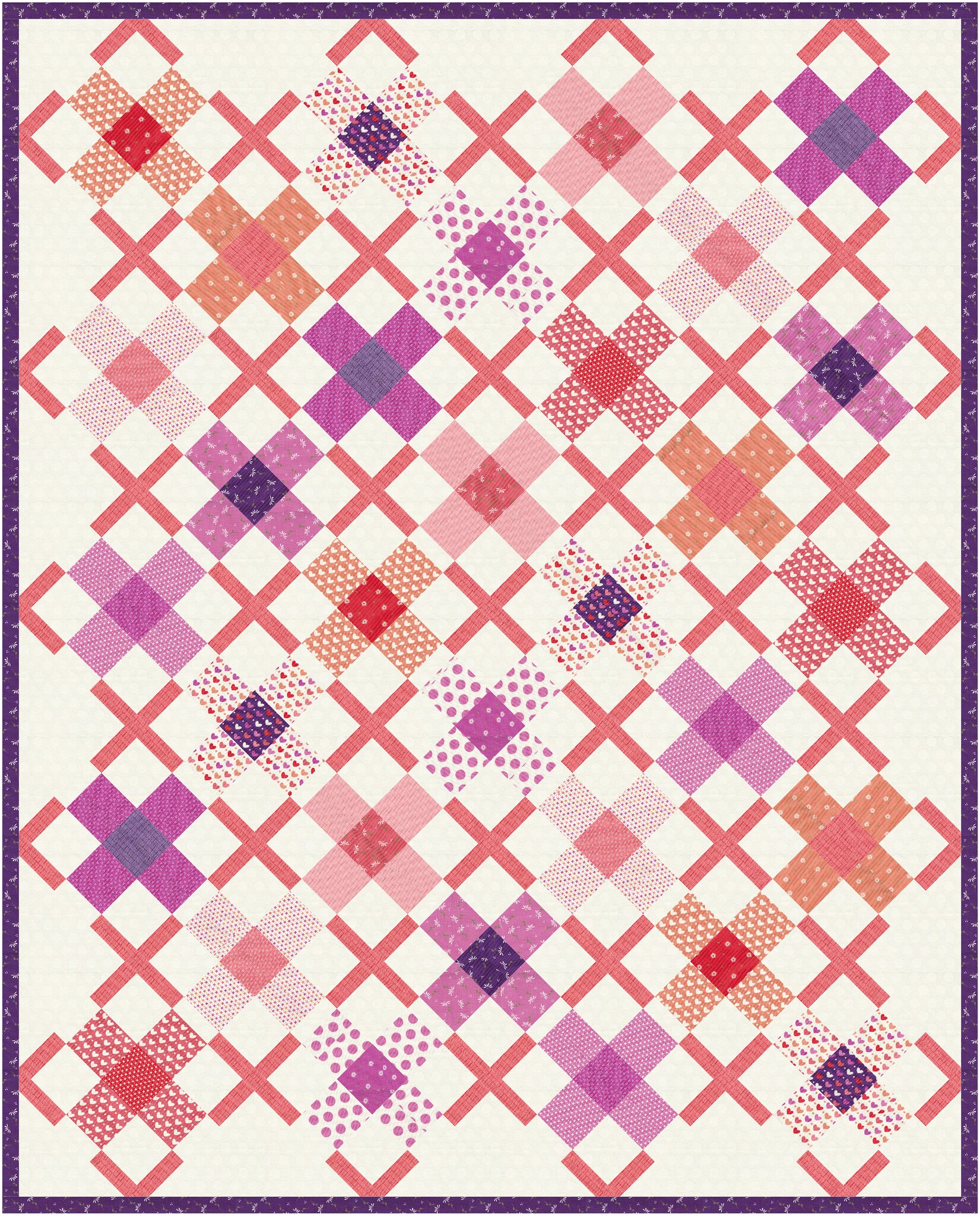 The Ruth Quilt in Sincerely Yours - Kitchen Table Quilting