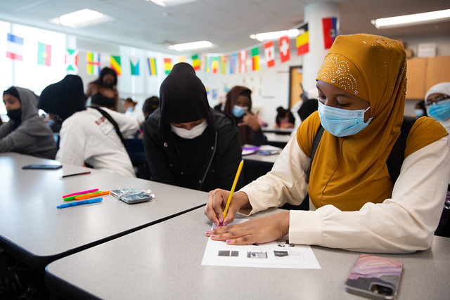 Arabic at Central Academy