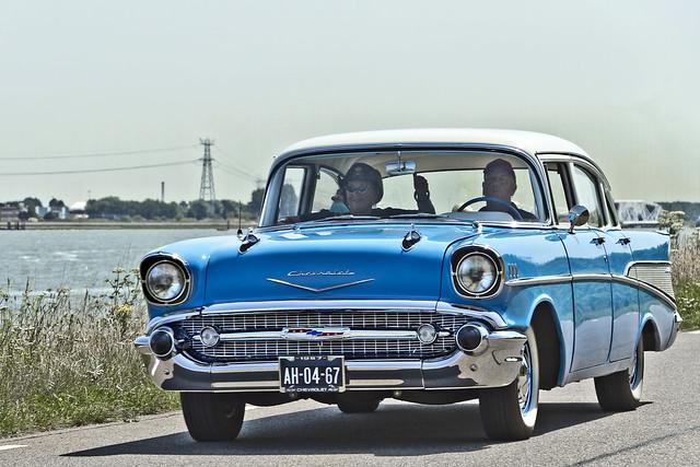 Chevrolet Bel Air Sedan 1957 (4230)
