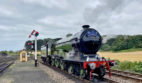 8572 'LNER' Class B12 4-6-0. Beyer Peacock built steam Locomotive /1 of 2 on Dennis Basford's railsroadsrunways.blogspot.co.uk'