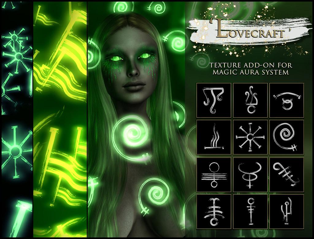 -Elemental - 'Lovecraft' Texture Addon For Magical Aura Advert