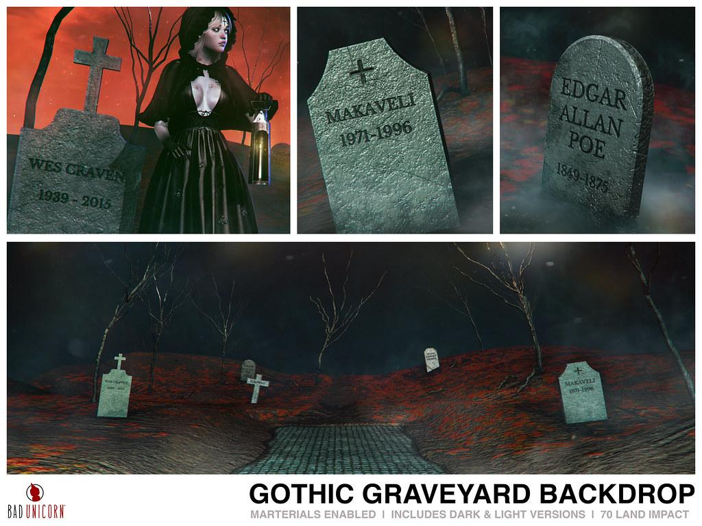 NEW! Gothic Graveyard @ C88