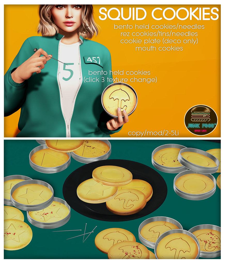 Junk Food – Squid Cookies Ad