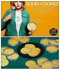 Junk Food - Squid Cookies Ad