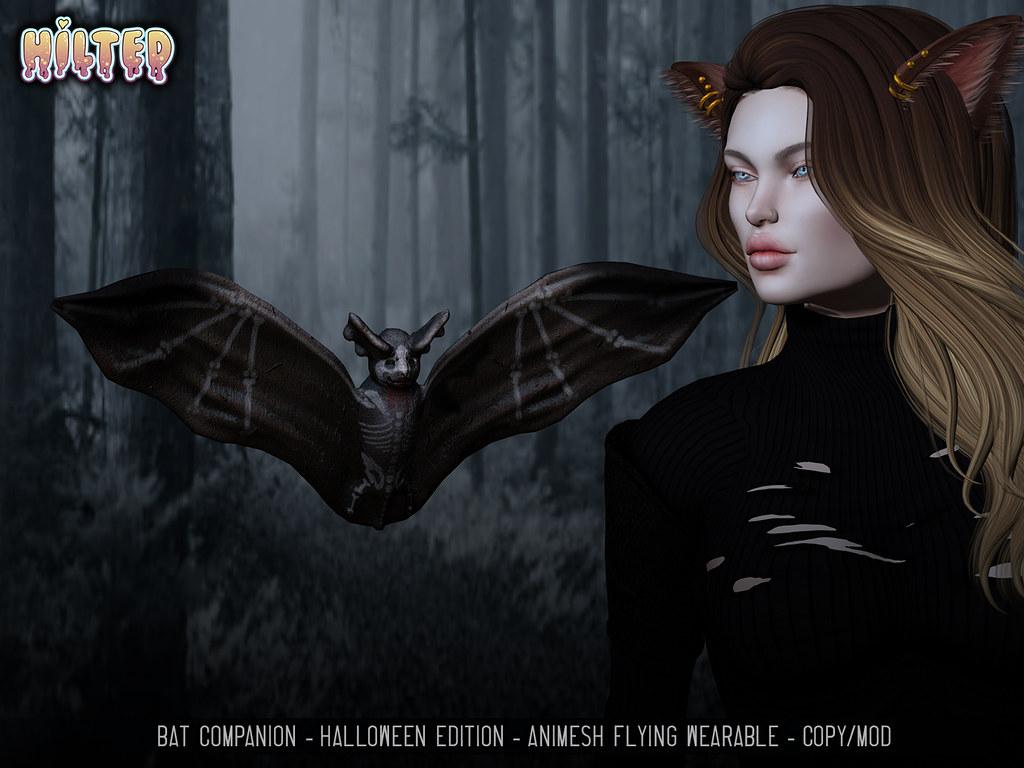 HILTED – Bat Companion – Halloween