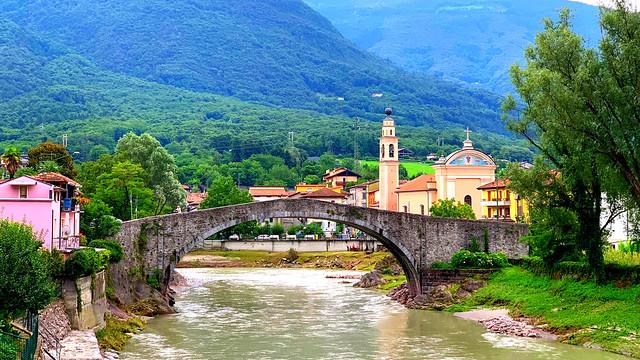 Old Montecchio Bridge.