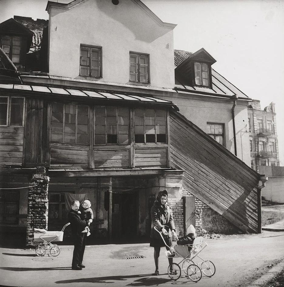 1968. Вильнюс. Жители Старого города