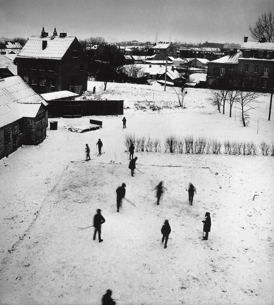 1969. Вечерний хоккей