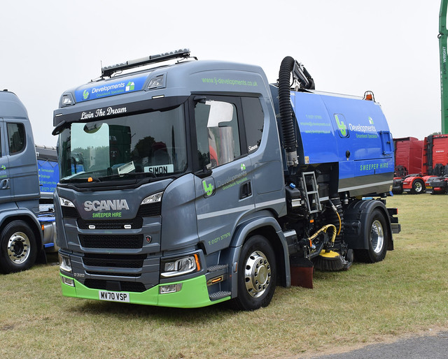 LJ Developments (South West) Ltd Scania G320 Sweeper MV70 VSP