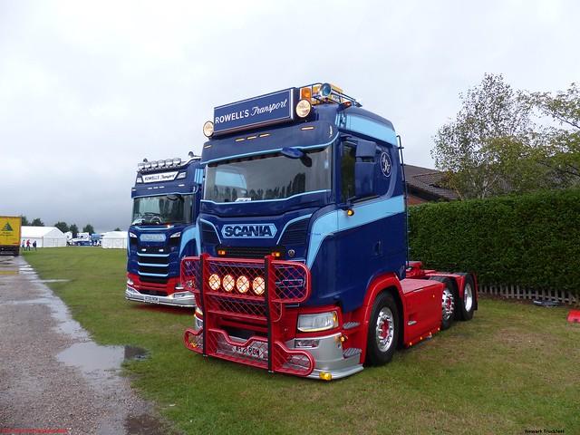 Scania Next Generation S500 AT20 ROW 2020 AT21 ROW 2021 Rowell's Transport Truckfest Newark