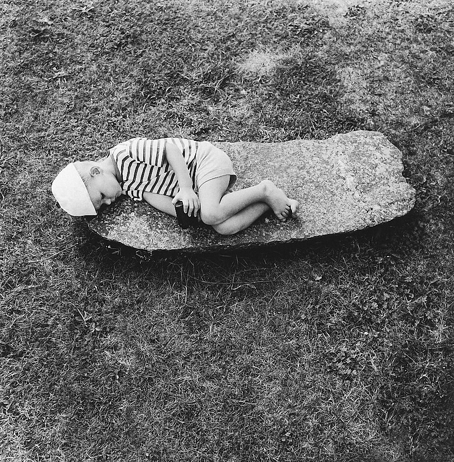 1968. На старом еврейском кладбище. Симас. Зарасай
