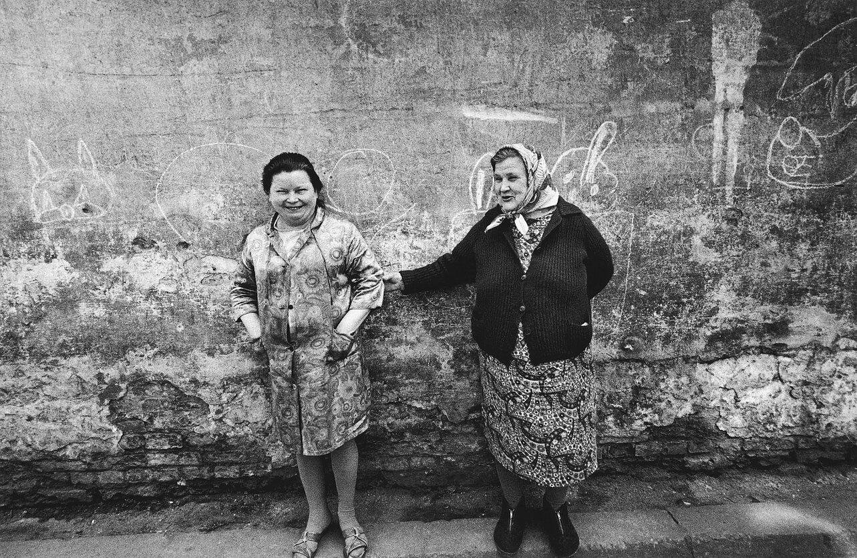 1968. Вильнюс. Жители старого города. Орлий.