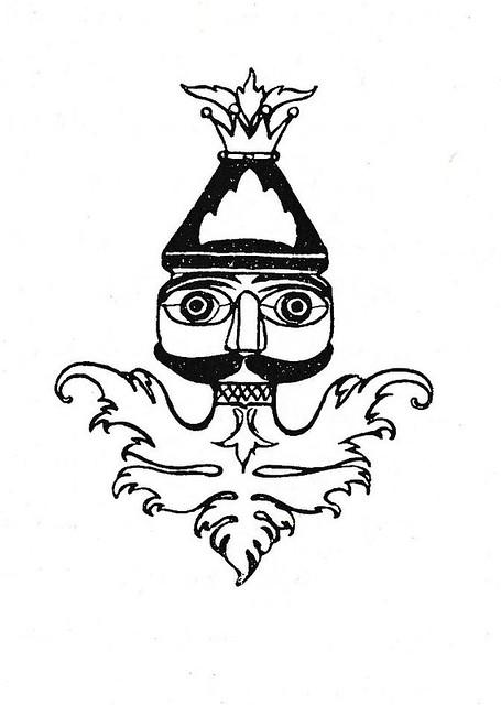 L W R Wenckebach Notenkraker en muizenkoning 1898 reprint  vignet pg 90