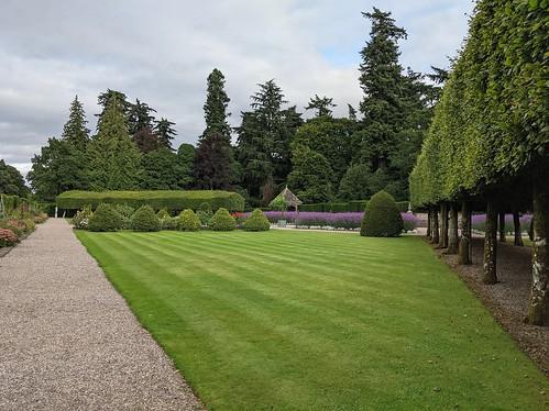 Glamis Castle, Italian Garden , Angus, Scotland