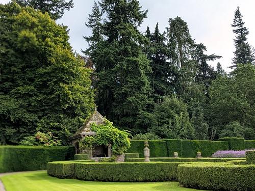 Italian Garden, Glamis Castle, Angus, Scotland