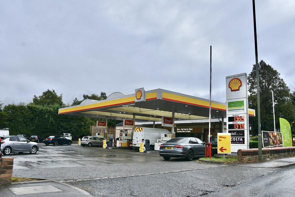 Shell, East Horsley Surrey.