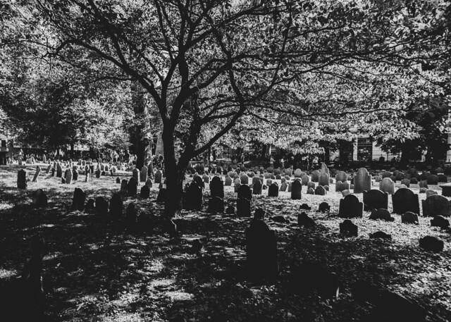 Granary Burying Ground, Boston 10/2/21