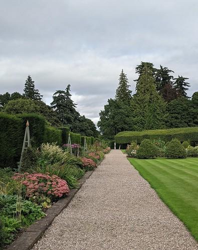 Glamis Castle, Italian Garden, Angus, Scotland