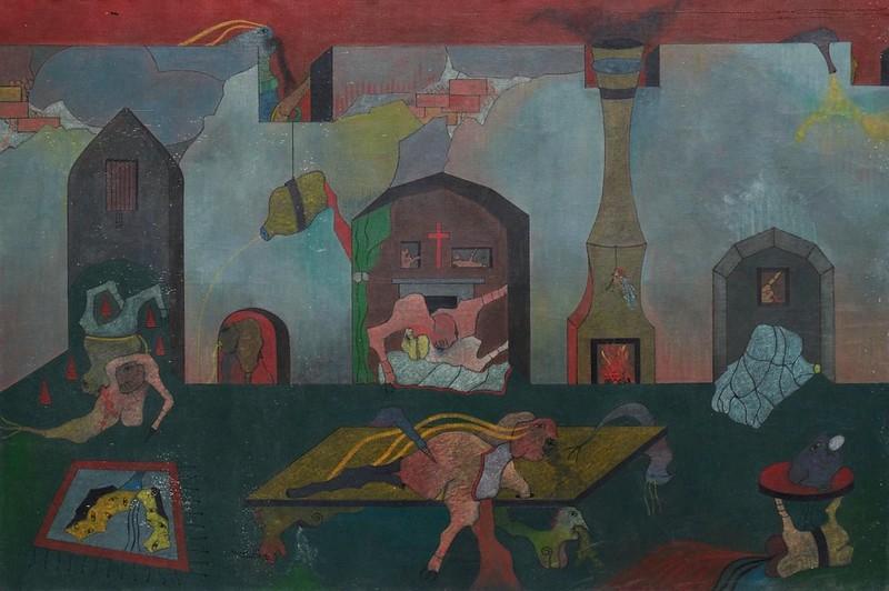 Jorge Camacho - Reflection Corruption (Tribute to D.A.F. Sade), 1964