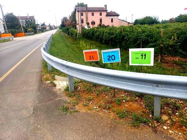 46^ Podistica Povegliano - Lungo il percorsi