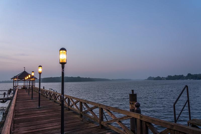 der Morgen am See