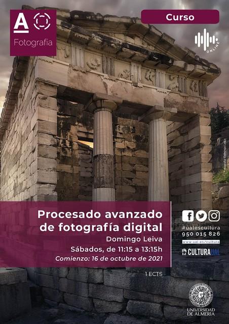 Curso de procesado avanzado de fotografía digital