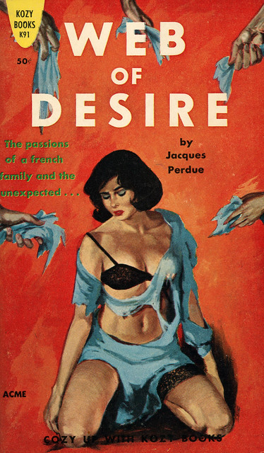 Kozy Books K91 - Jacques Perdue - Web of Desire