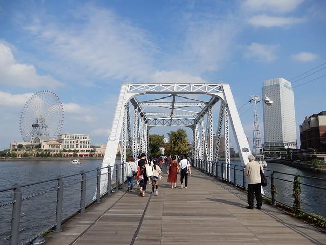 青い空と碧い海の横浜 2021.10.9