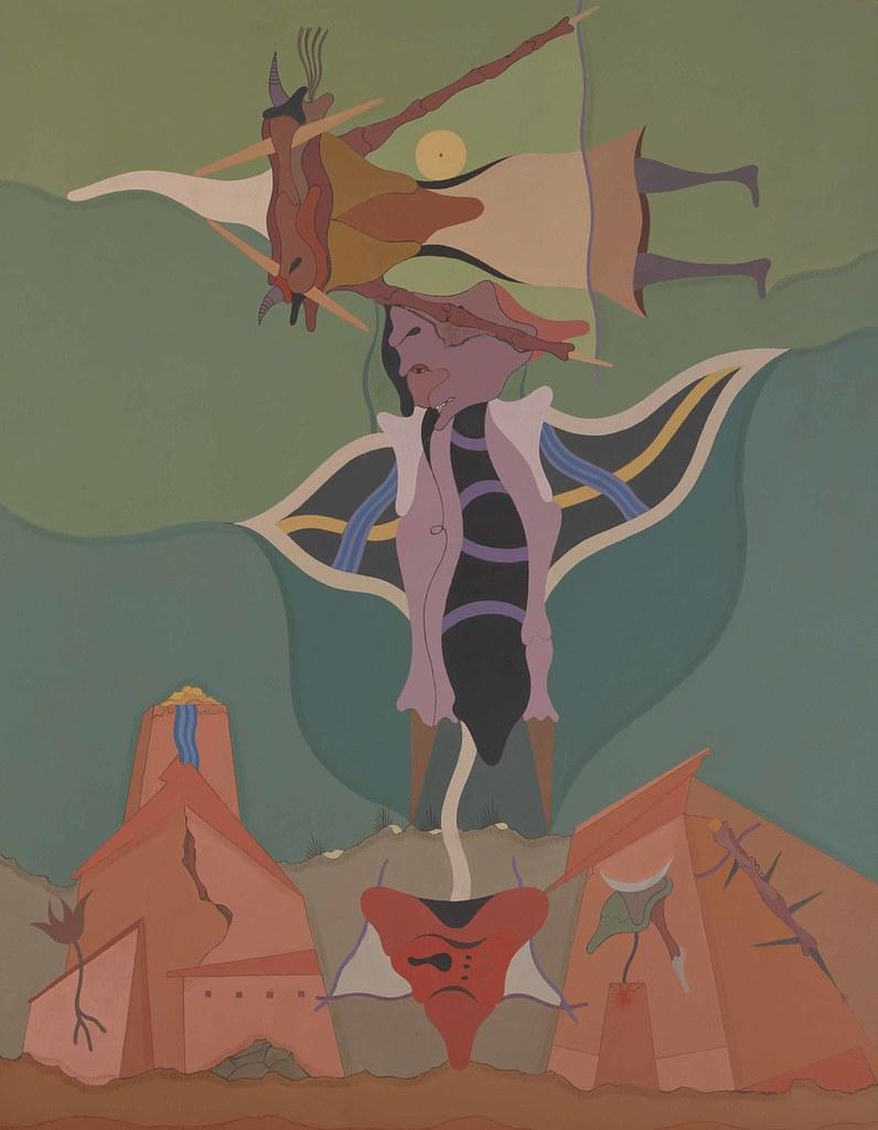 Jorge Camacho - The Colossus , 1990