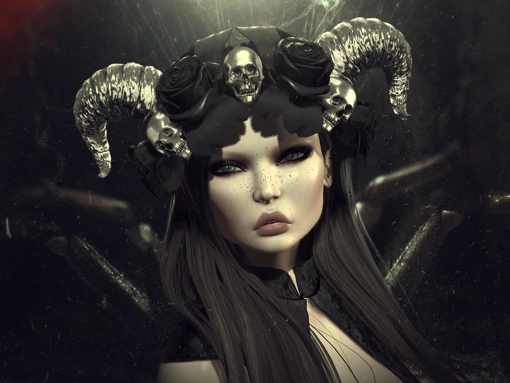 POISON ROUGE Sweet Death Crown @The Dark Style Fair