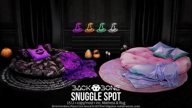 BackBone Snuggle Spot