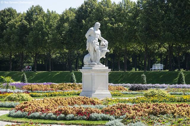Schleissheimin puutarhaa
