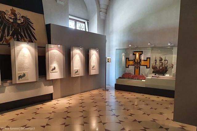 Altes Schlossin näyttelytilaa