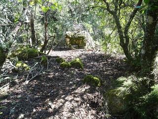 Hameau de Lora : sentier d'accès aux caseddi 3 et 4