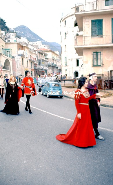 Minori (SA), 1973, Carnevale di Minori.